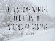 Let us love Winter